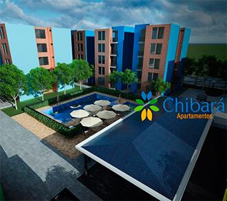 Apartamentos Chibará constructora yadel cucuta