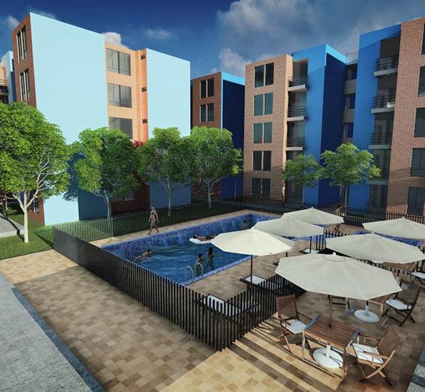 chibara constructora yadel apartamentos conjunto cerrado